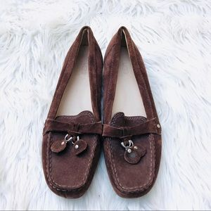 NWT UGG brown suede loafers size 6